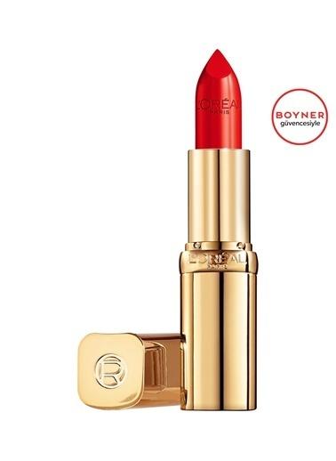 L'Oréal Paris L'Oréal Paris Color Riche Saten BitişliRuj 125 Maison Marais - Kırmızı Kırmızı